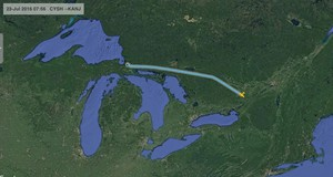 Smiths Falls to Sault Ste. Marie, MI
