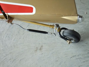 After market tailwheel steering linkage
